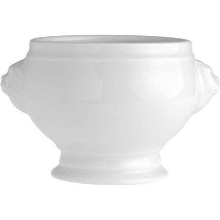 misa polievková terina levia hlava 0,45 l, porcelán, Tognana