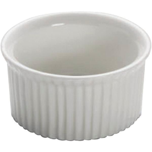 Misa zapekacia Miska malá okrúhla, Miska dip 6,5 cm 60 ml, na paštétu, Soufly, Basic Ramekin
