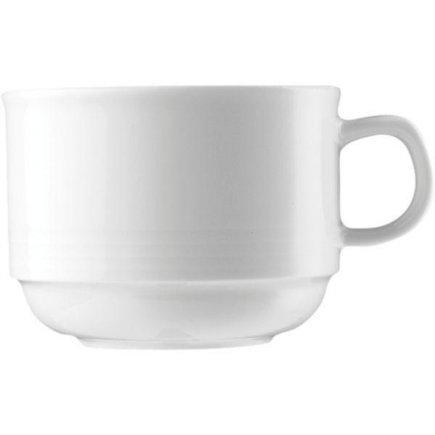 Šálka na kávu 0,22 l, stohovateľná, vhodné doplniť podšálkou č. 221112406, Dialóg - Bauscher