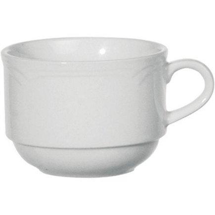 šálka na kávu stohovateľný 0,18 l, vhodné doplniť podšálkou č.221117216, Athena