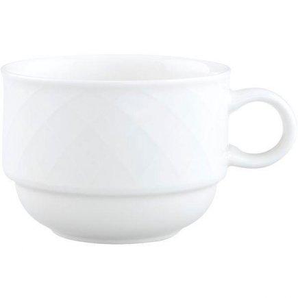 šálka na kávu stohovateľná 0,18 l, vhodné doplniť podšálkou č.221140606, Bella