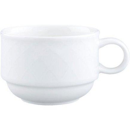 šálka na kávu stohovateľná 0,22 l, vhodné doplniť podšálkou č.221140606, Bella