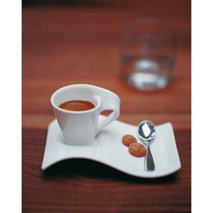 Šálka na kávu 0,08 l, vhodné doplniť podšálkou č.221140304, miska s uškom, New Wave Cafe, Villeroy & Boch