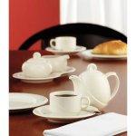 šálka na kávu stohovateľná 0,18 l, vhodné doplniť podšálkou č. 221169103, Luxor Fine Cream