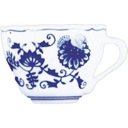 Šálka na kávu 0,22 l, vhodné doplniť podšálkou č 221124113, Cibulový vzor Cibulák, Original Bohemia