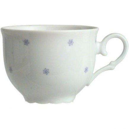 šálka na kávu 0,2 l, porcelán, vhodné doplniť podšálkou č. 221116042, Ofelie Modrý dekor, Gastro