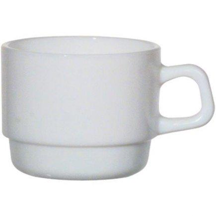 šálka na kávu 0,25 l, stohovateľná, vhodné doplniť podšálkou č. 222212610 Hotelerie, Arcoroc