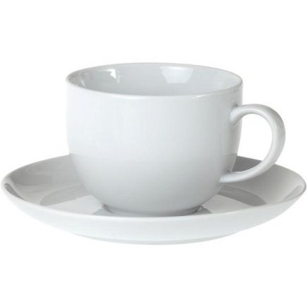Šálka na čaj + podšálka 0,4 l, Oliva, Gastro