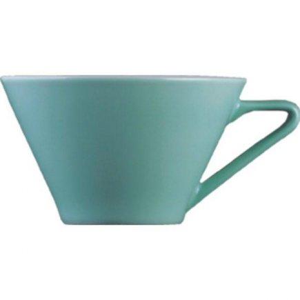 Šálka na kávu 0,18 l, vhodné doplniť podšálkou č.221157034 Daisy, aquamarin, modrá Lilien