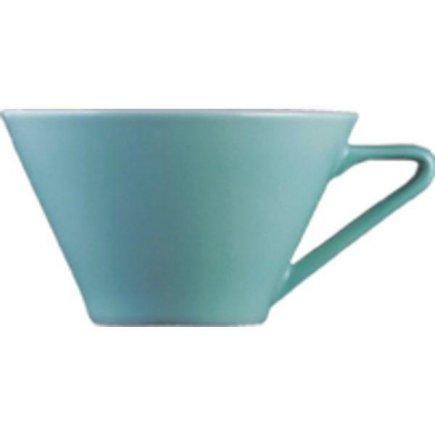 Sálka na kávu 0,1 l, vhodné doplniť podšálkou č.221157032, Daisy, Aquamarin, modrá