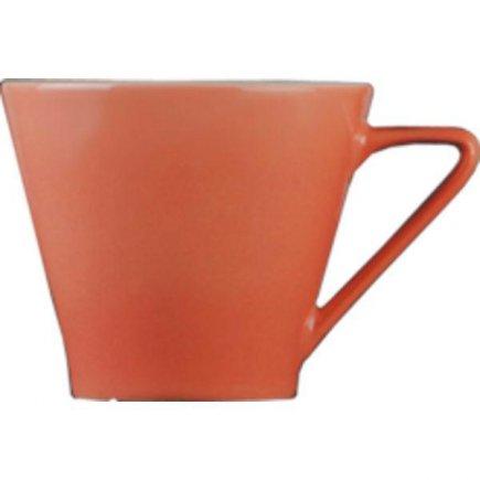 Šálka na kávu 0,21 l, vhodné doplniť podšálkou č.221157099 Daisy lososová Lilien