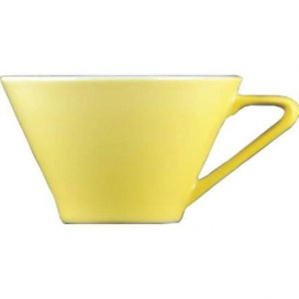 Šálka na kávu 0,18 l, vhodné doplniť podšálkou č.221157060 Daisy žltá Lilien