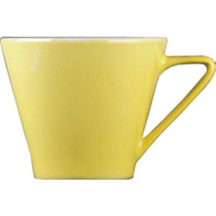 Šálka na kávu 0,21 l, vhodné doplniť podšálkou č.221157060, Daisy žltá Lilien