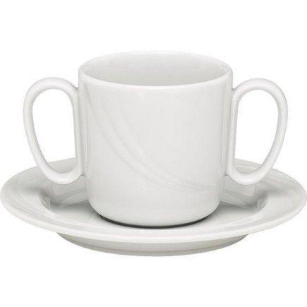 Šálka na kávu Schönwald Donna 300 ml, s dvoma uškami