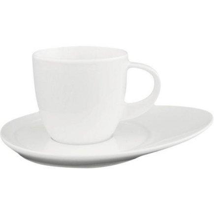 Šálka na kávu 0,22 l, porcelán, vhodné doplniť podšálkou č.221193828 alebo 221193839, model Universo, ESCHENBACH