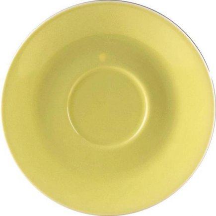 Podšálka kávová 14,2 cm Daisy Lilien žltá