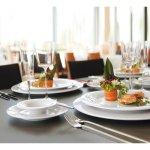 Podšálka Savoy 164 mm k miske na polievku 221168083 a k šálce 221168070, biela, elegantná, luxusná, Seltmann