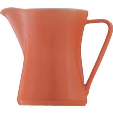 Konvička na mlieko s uchom kávu 0,30 l, Daisy Lilien lososová
