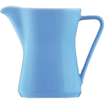 Konvička na mlieko s uchom kávu 0,30 l, Daisy Lilien azúrová