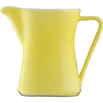 Konvička na mlieko s uchom kávu 0,30 l, Daisy Lilien žltá
