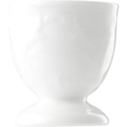 Stojanček na vajíčko porcelán Bauscher Mozart, biely