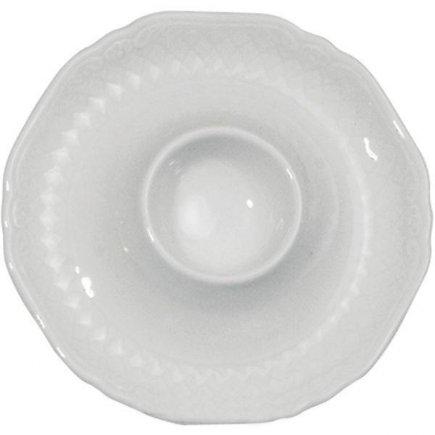 Stojanček na vajíčko porcelán Eschenbach La Reine, biely