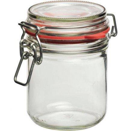 Zaváracie poháre obloučkový uzáver a tesnení 400 ml Gstro