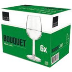Pohár na víno Royal Leerdam Bouquet 350 ml cejch 1/8 + 1/4 l