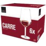 Pohár na víno 530 ml cejch 1/8 l, Carré, darčekové balenie - Royal leerdam