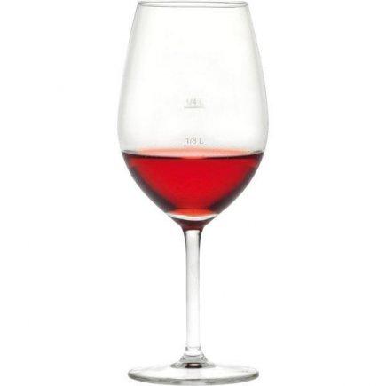 Pohár na víno Royal Leerdam L´Esprit 530 ml cejch 1/4 l + 1/8 l