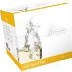 Pohár na víno ilios Sommer Gspritzer 350 ml cejch 1/8 l + 1/4 l