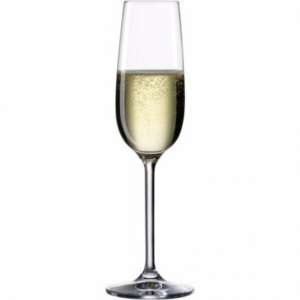 Pohá na sekt šampanské Bohemia Cristal Clara 190 ml