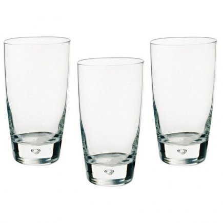 Sada 3 pohárov na nealko Bormioli Rocco Luna 340 ml