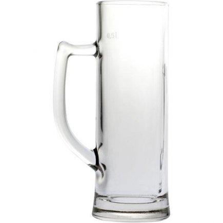 Pohár na pivo Gastro Sauerland 580 ml cejch 0,5 l