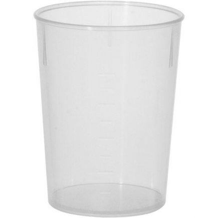 Kelímok plastový pre viacnásobné použitie Waca 250 ml
