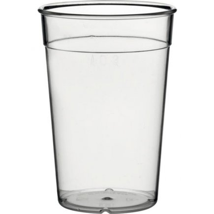 Kelímok plastový pre viacnásobné použitie Gastro cejch 0,3 l