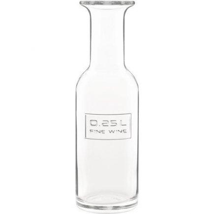 Karafa sklenená Luigi Bormioli Optima cejch 0,25 l