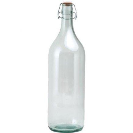 Fľaša na alkohol, 2,0 l s obloučkovým uzáverom