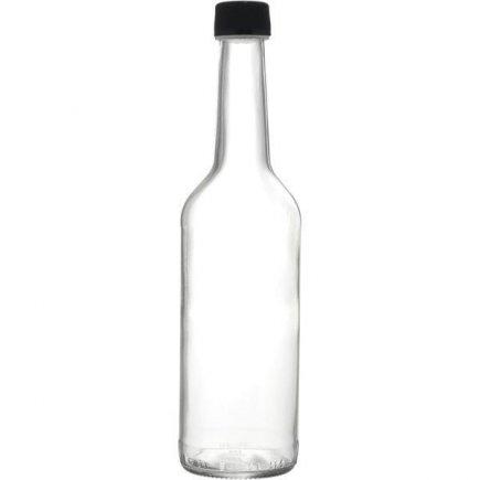Fľaša na alkohol  0,5 l, s uzáverom skrutkovacie