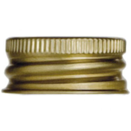 Skrutkovacie zátky, 10ks, zlaté