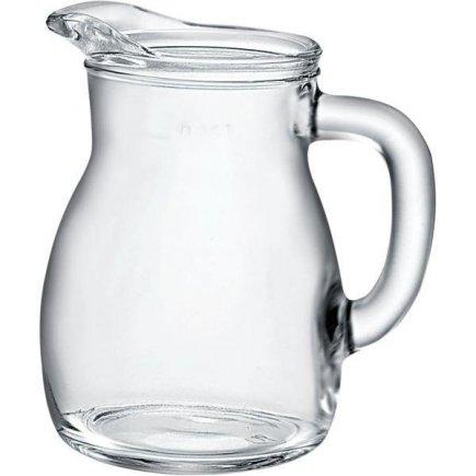 Džbán sklenený Bormioli Rocco Bistrot 250 ml cejch 1/4 l