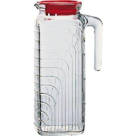 Džbán sklenený s vekom Bormioli Rocco Gelo 1200 ml