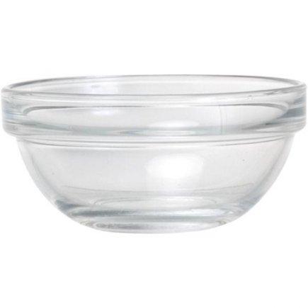miska 12 cm 380 ml, na šalát, müsli, guľatá sťahovateľná, sklo, Caps, Arcoroc