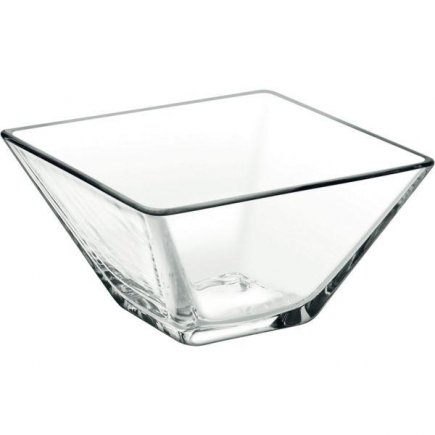 Miska hranatá sklenená, 0,17 l Modi