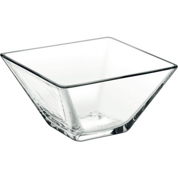 Miska hranatá sklenená, 0,17 l, darčekové balenie, Modi