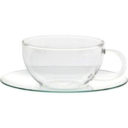 Šálka na čaj s podšálkou Radwyck India 300 ml