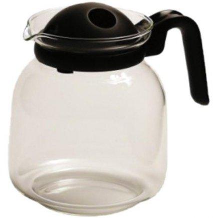 kávová čajová, kanvica na kávu, čaj s filtrom vo viečku 1,5 l, plastové držadlo, vhodné do mikrovlnky, Gastro