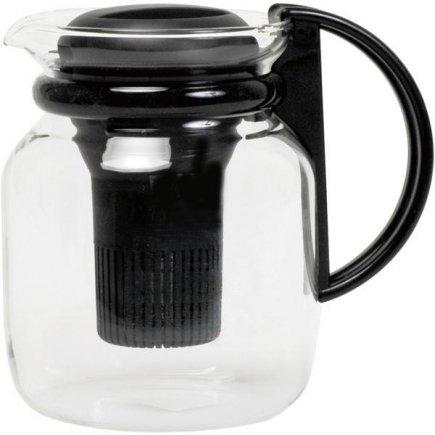 kanvica s čiernym plastovým filtrom 1200 ml, káva, čaj, Samba - Radwyck