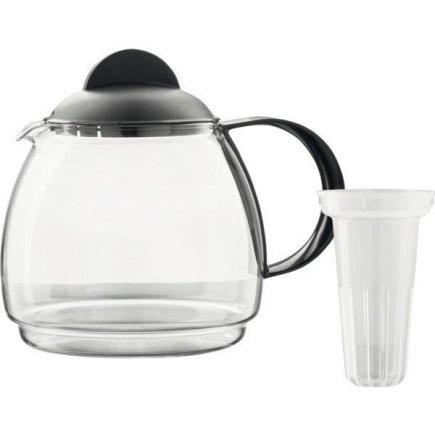 čajová, kanvica na čaj, s filtrom na čaj, pre mikrovlnku 1,8 l, Gastro
