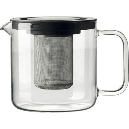 Kanvica na čaj s kovovým sitkom 1,3 l Bohemia Crystal